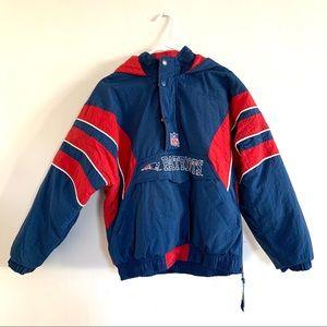 Vintage 90s Patriots Starter Pro Line Jacket